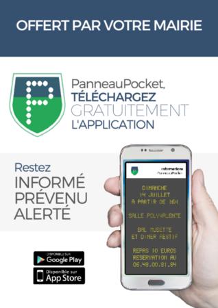 Panneau Pocket : les infos communales directement sur votre téléphone.